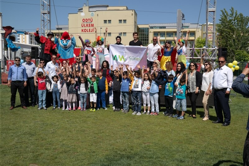 Süreko Met With Kids For The Environment Week
